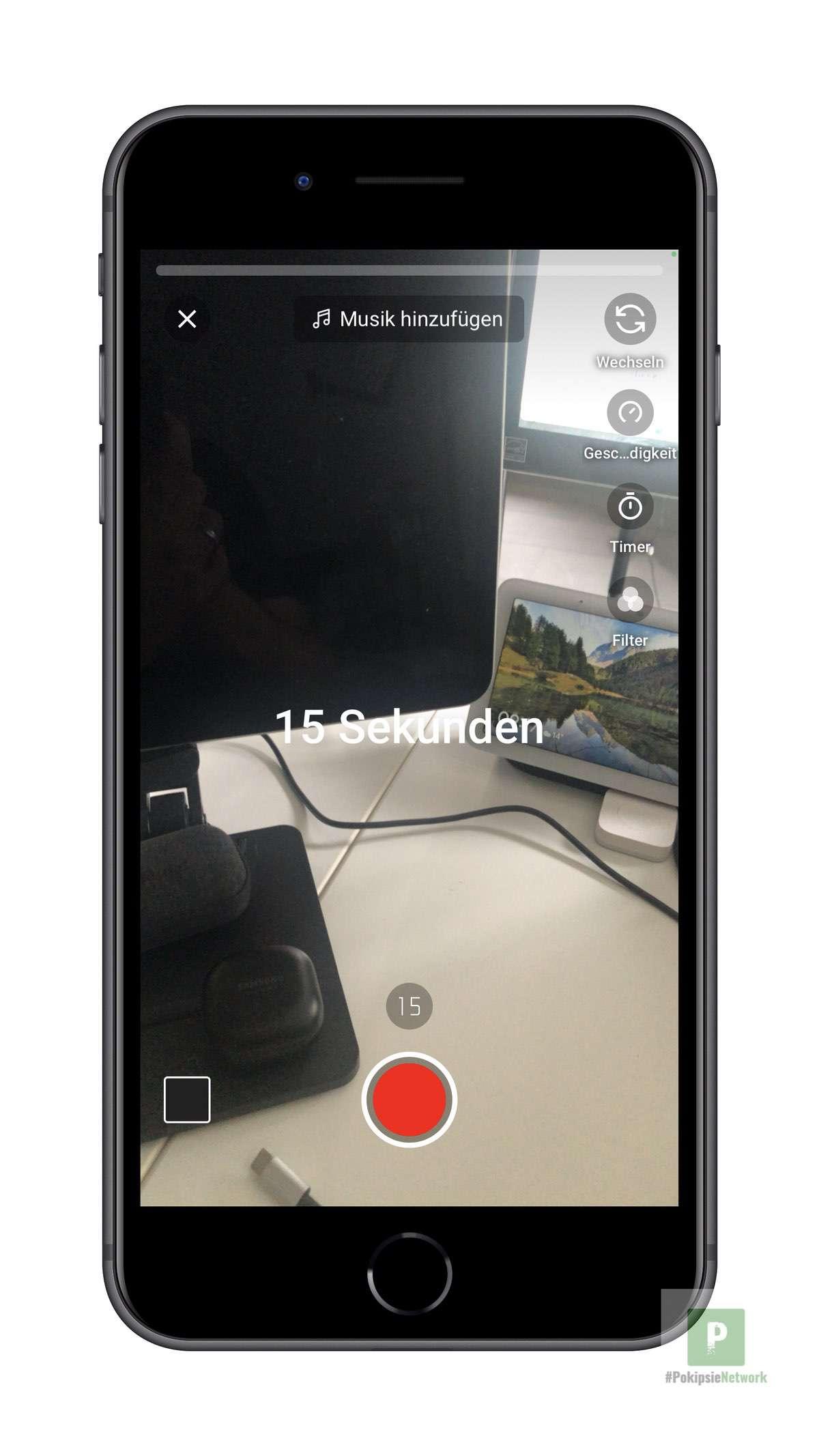 15 Sekunden Kurzvideo