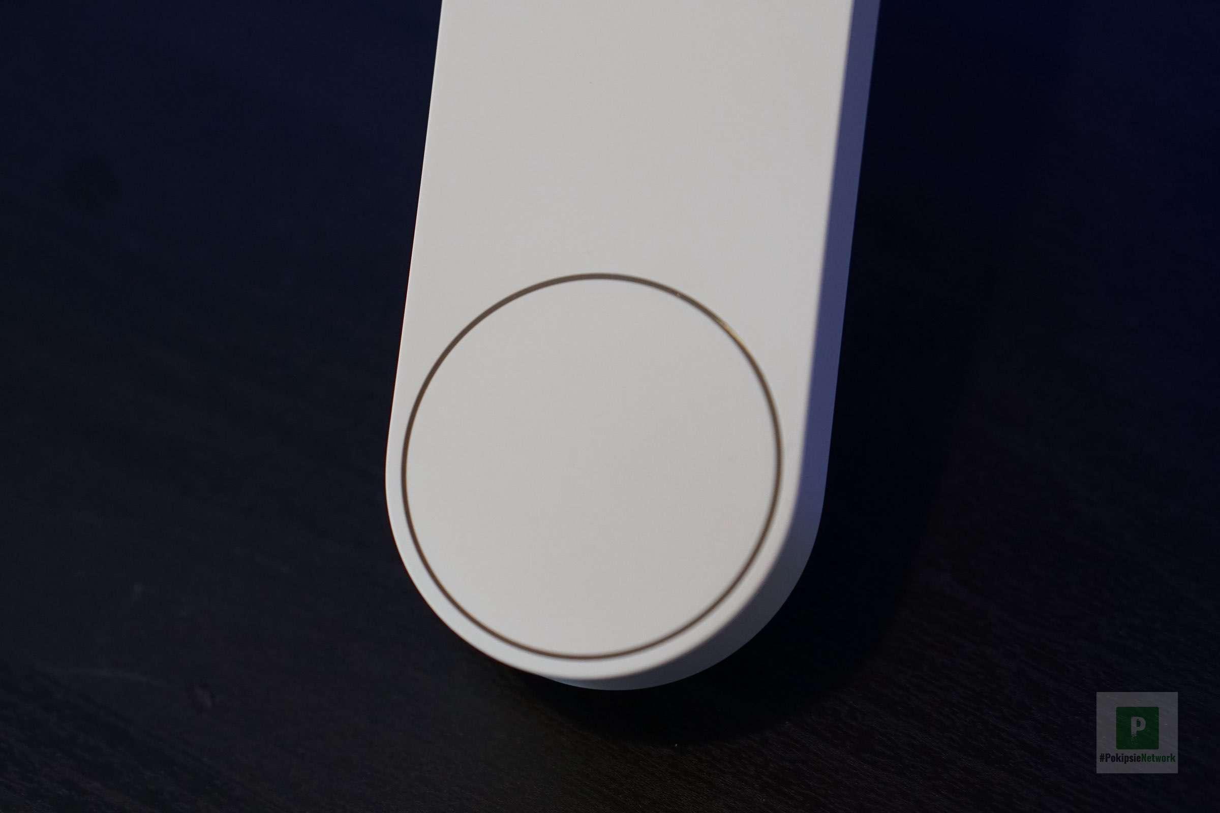 Der Knopf für die Klingel