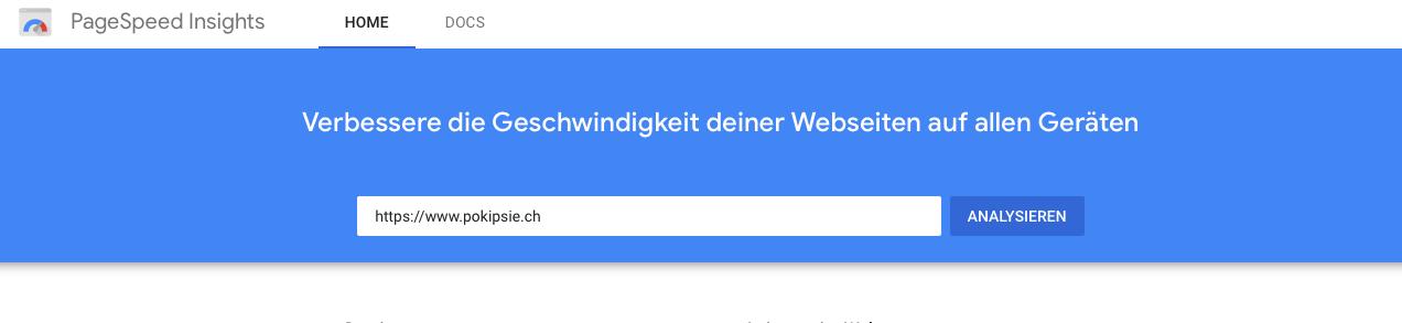 Page Speed – mit Google die Geschwindigkeit der eigenen Seite testen