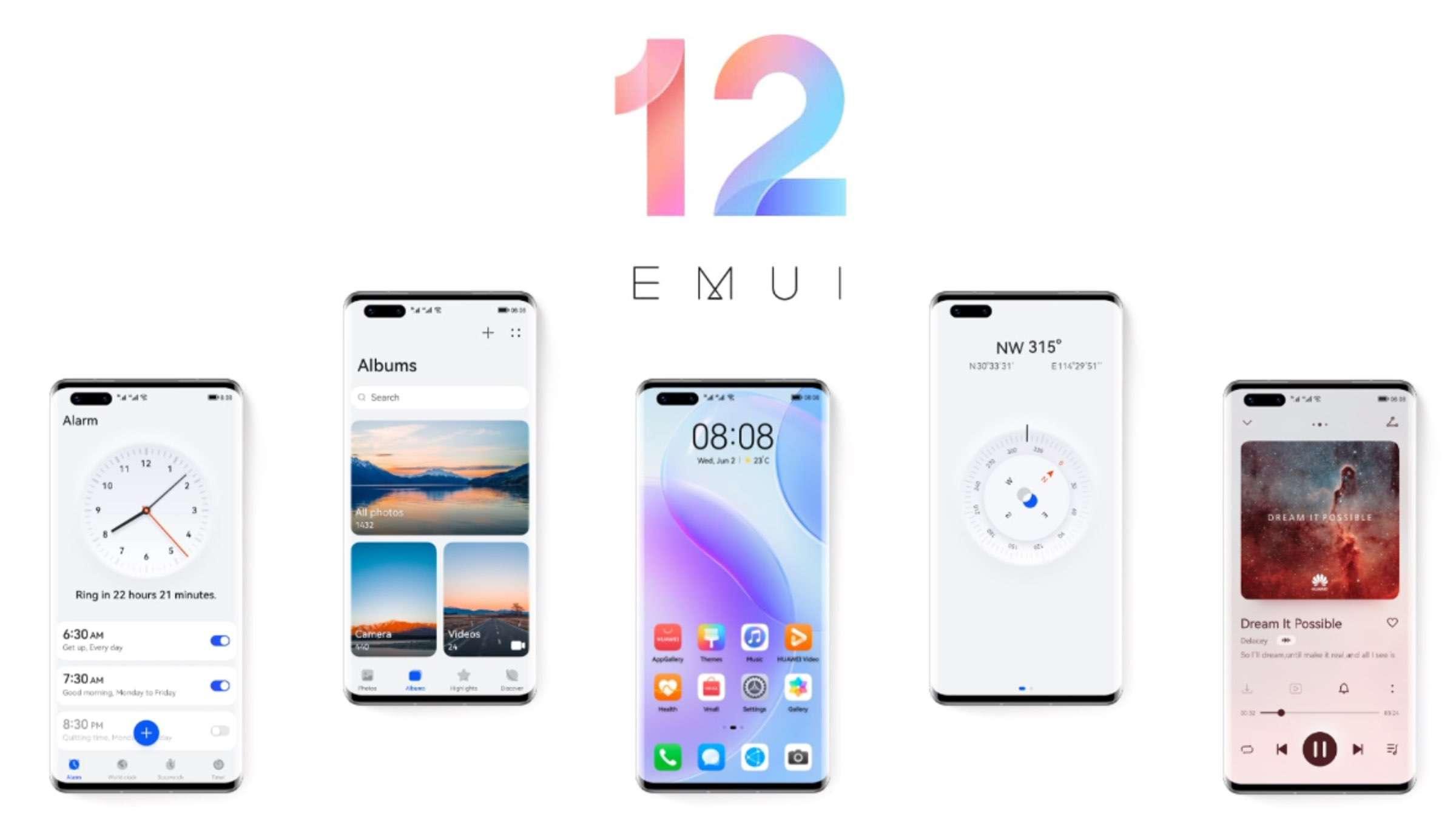 Huawei EMUI 12 – Erste Details bekannt geworden