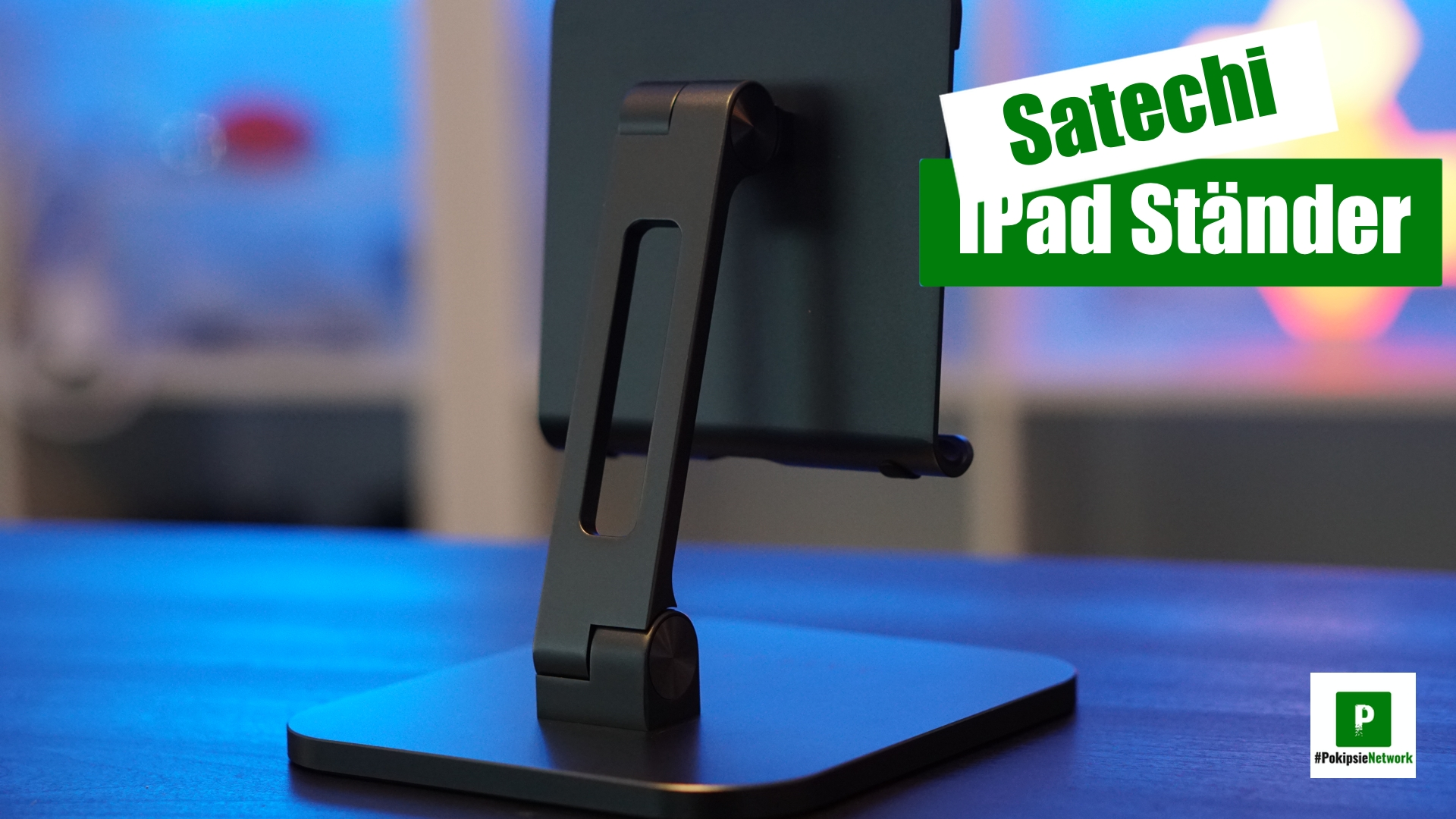 Satechi Aluminium iPad Ständer Test