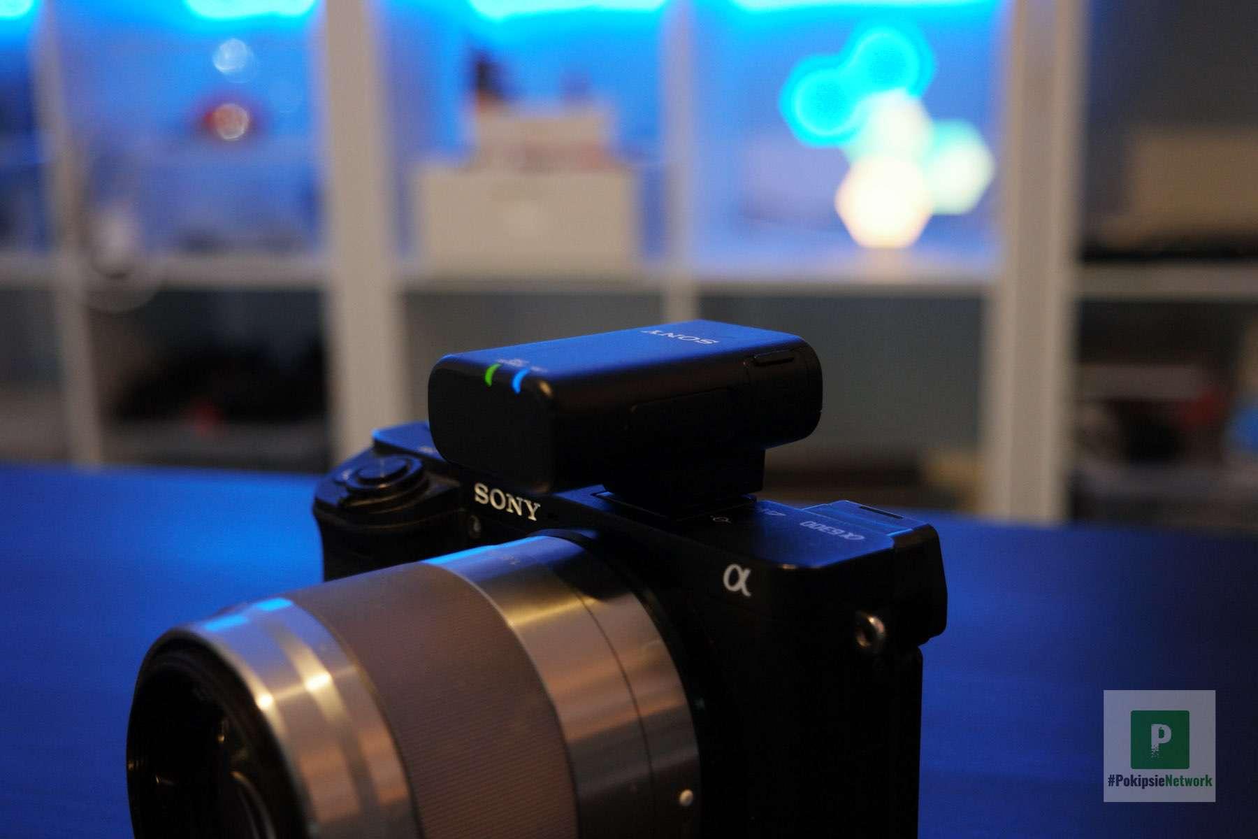 Sony ECM-W2BT Test vom Mikrofon und dem ECM-LV1 Lavaliermikrofon