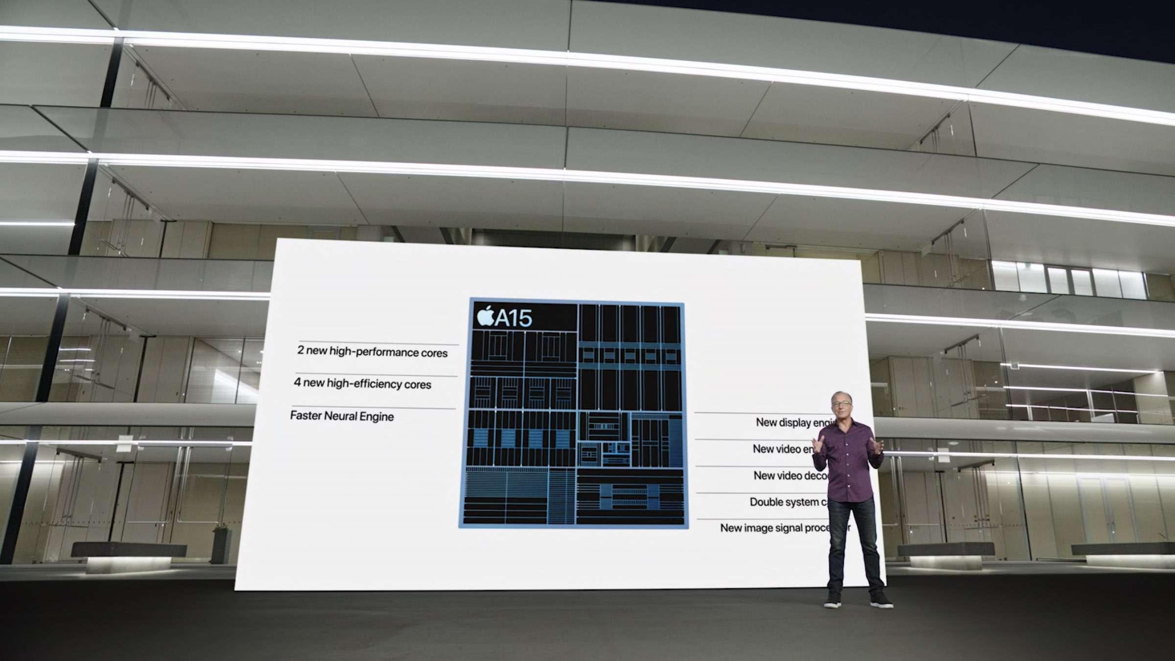 Der A15 Bionic Chip