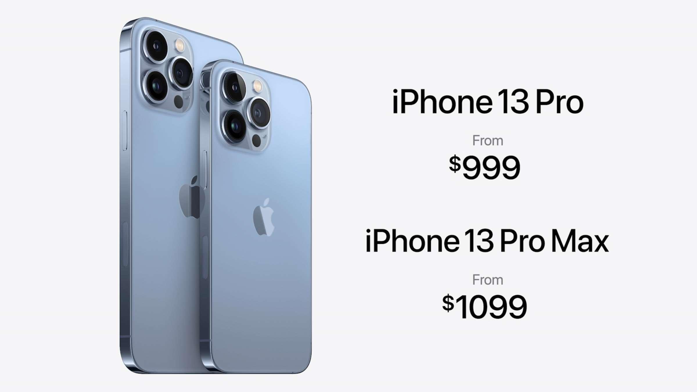Die Preise für die grossen zwei