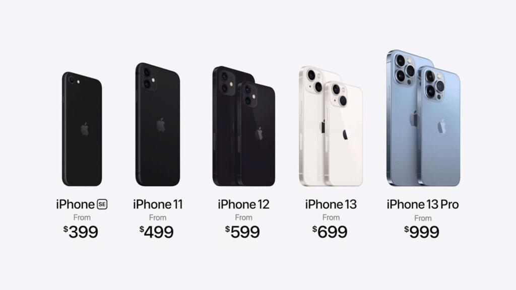 Das neue iPhone Lineup