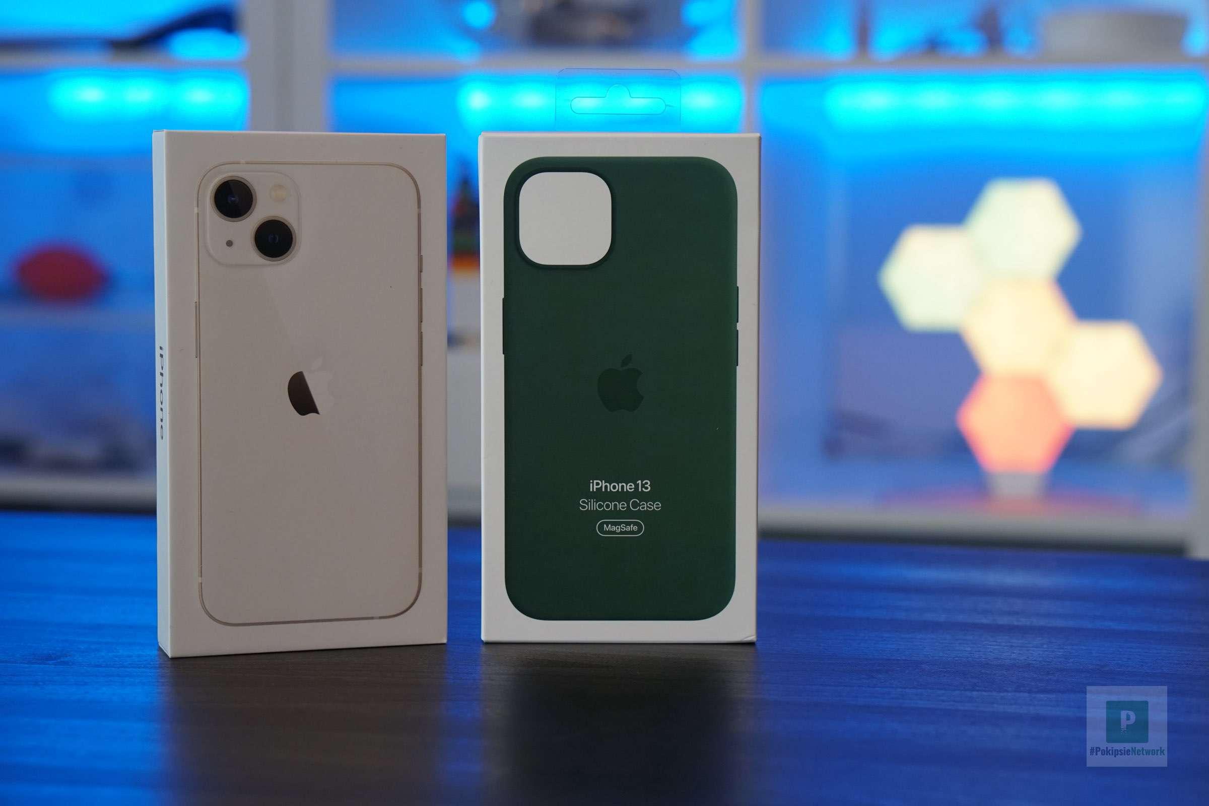 iPhone 13 und Hüllen Karton