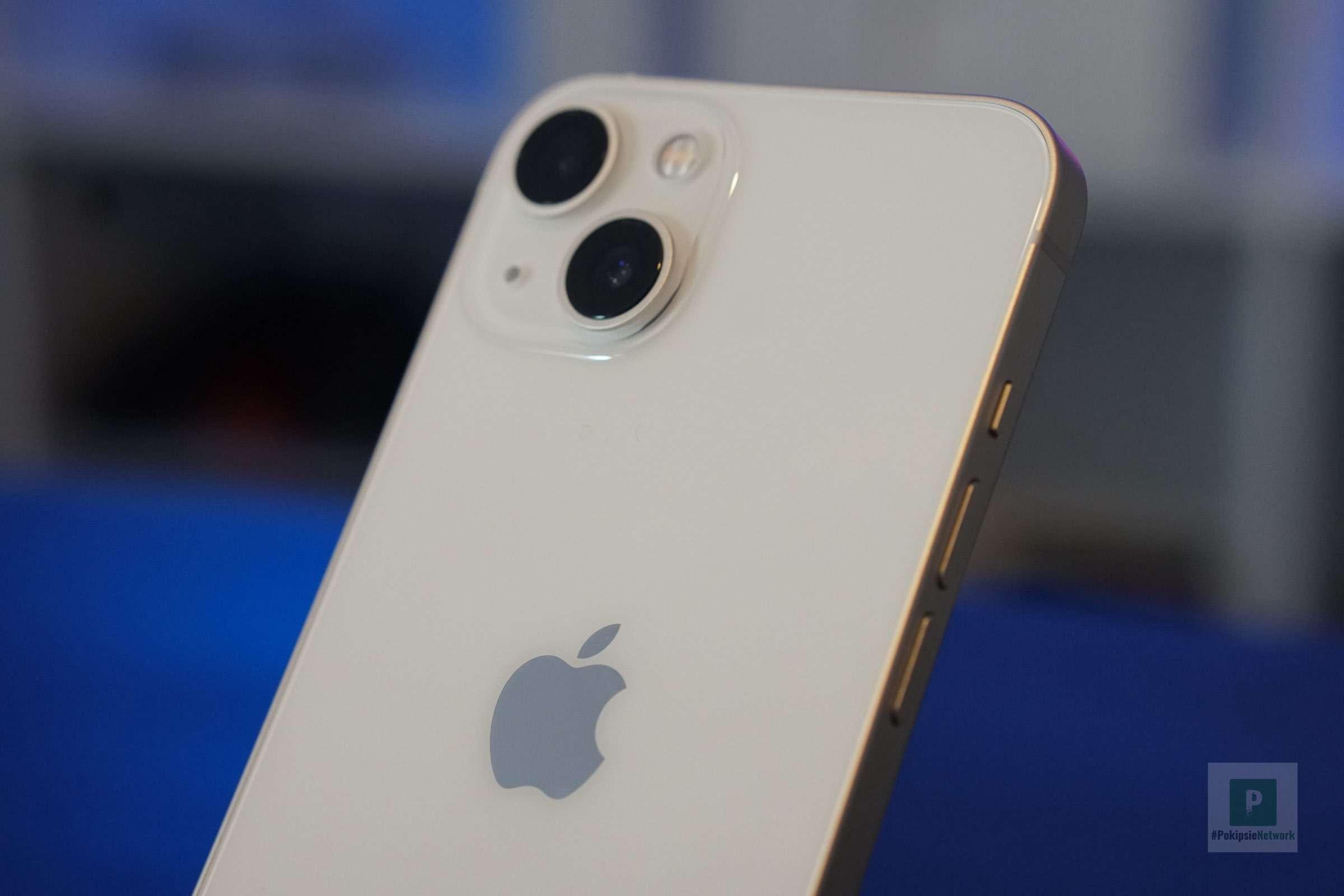 iPhone Rückseite mit dem chicen KameraBump