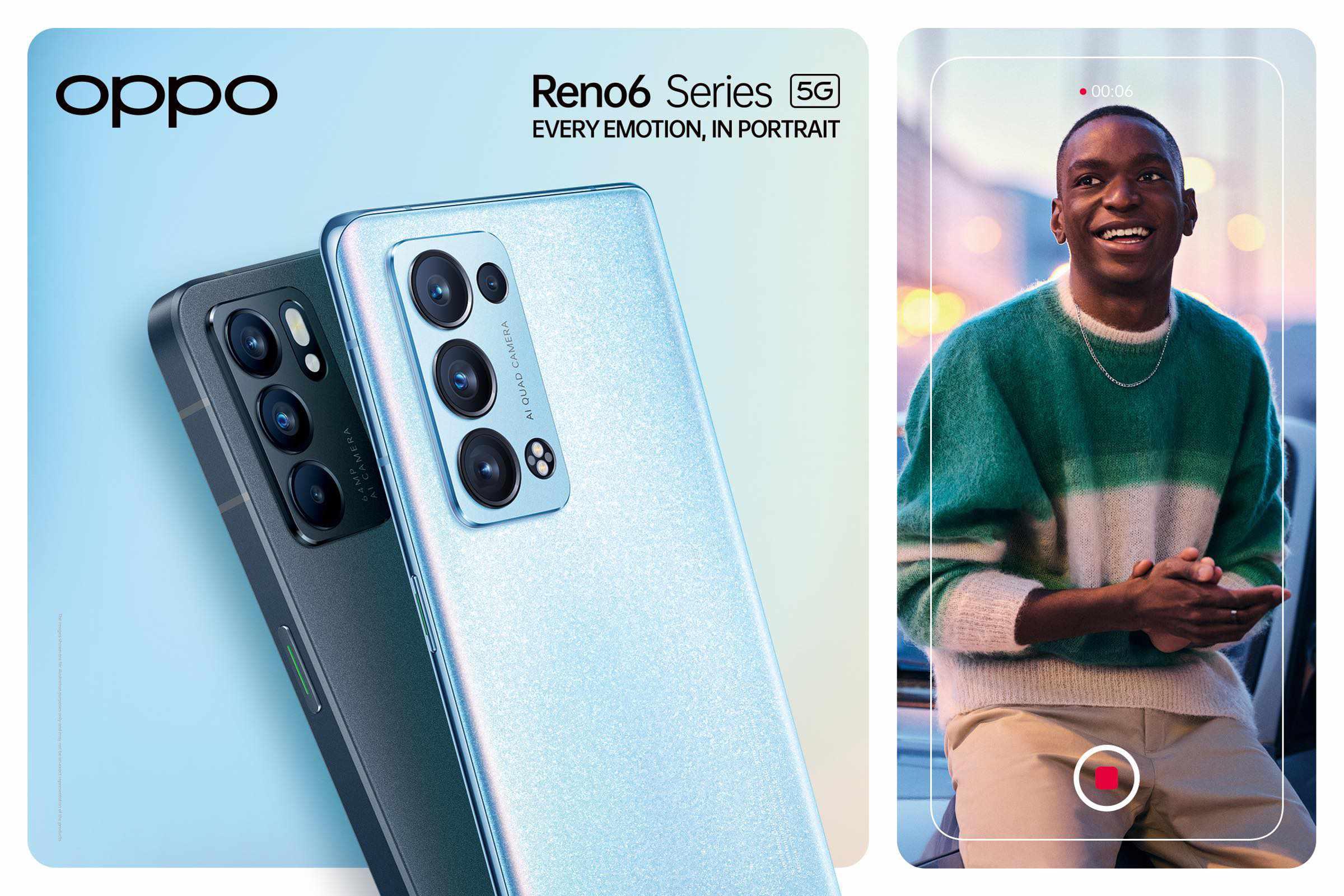OPPO Reno6 und Reno 6 Pro vorgestellt