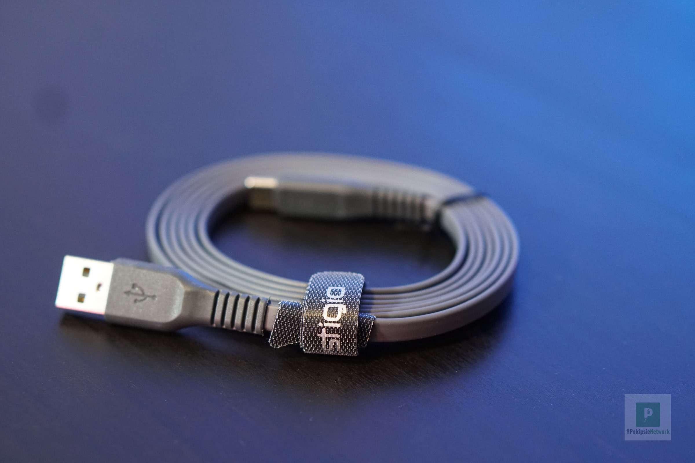 Das 1.8 m lange USB-Kabel