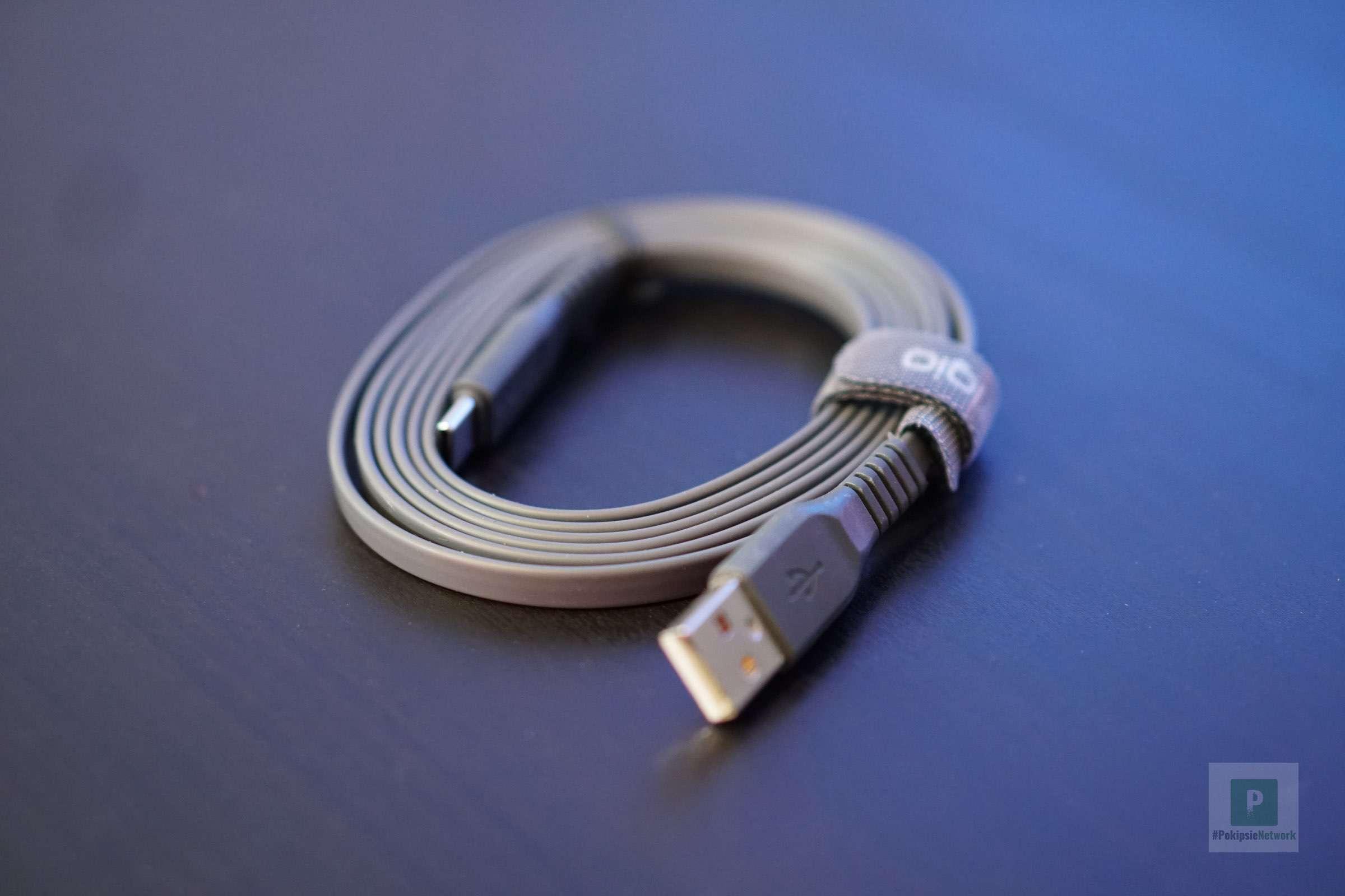 Das lange USB-Kabel