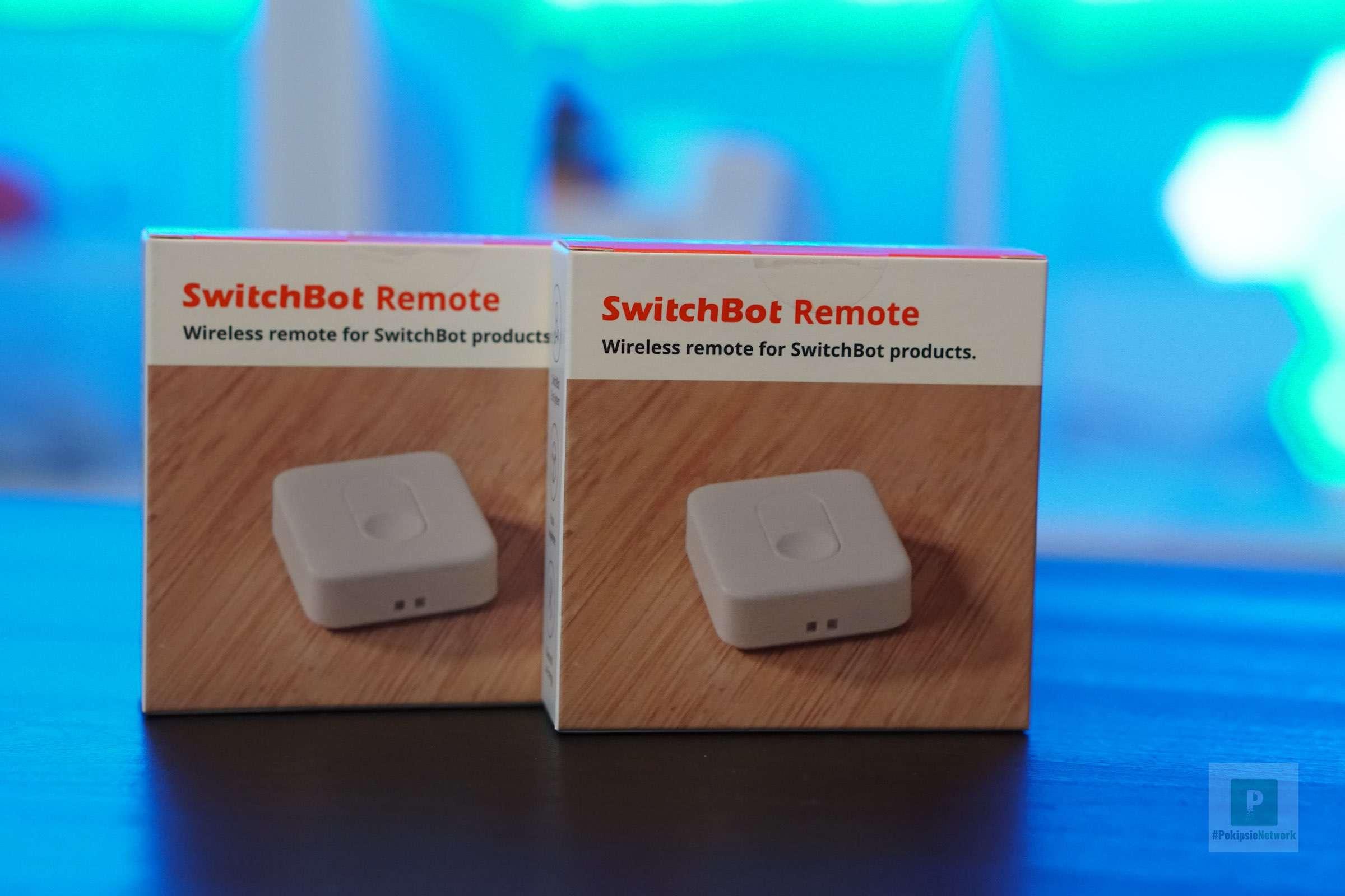 Der SwitchBot Remote, die Fernbedienung im Test