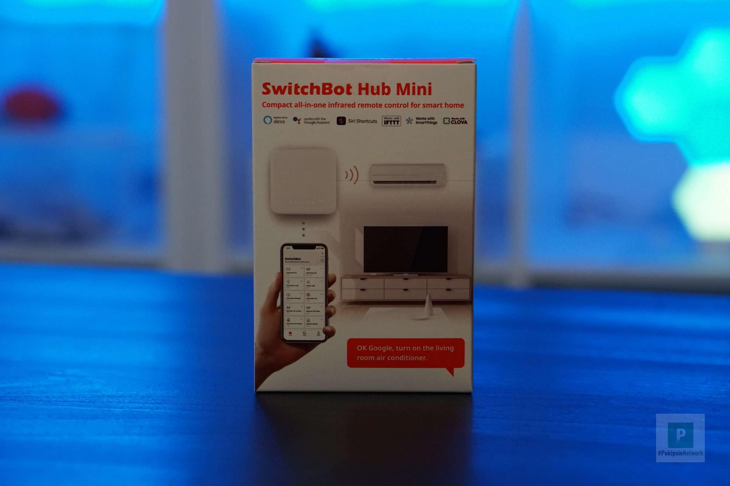 Der SwitchBot Hub Mini im Test