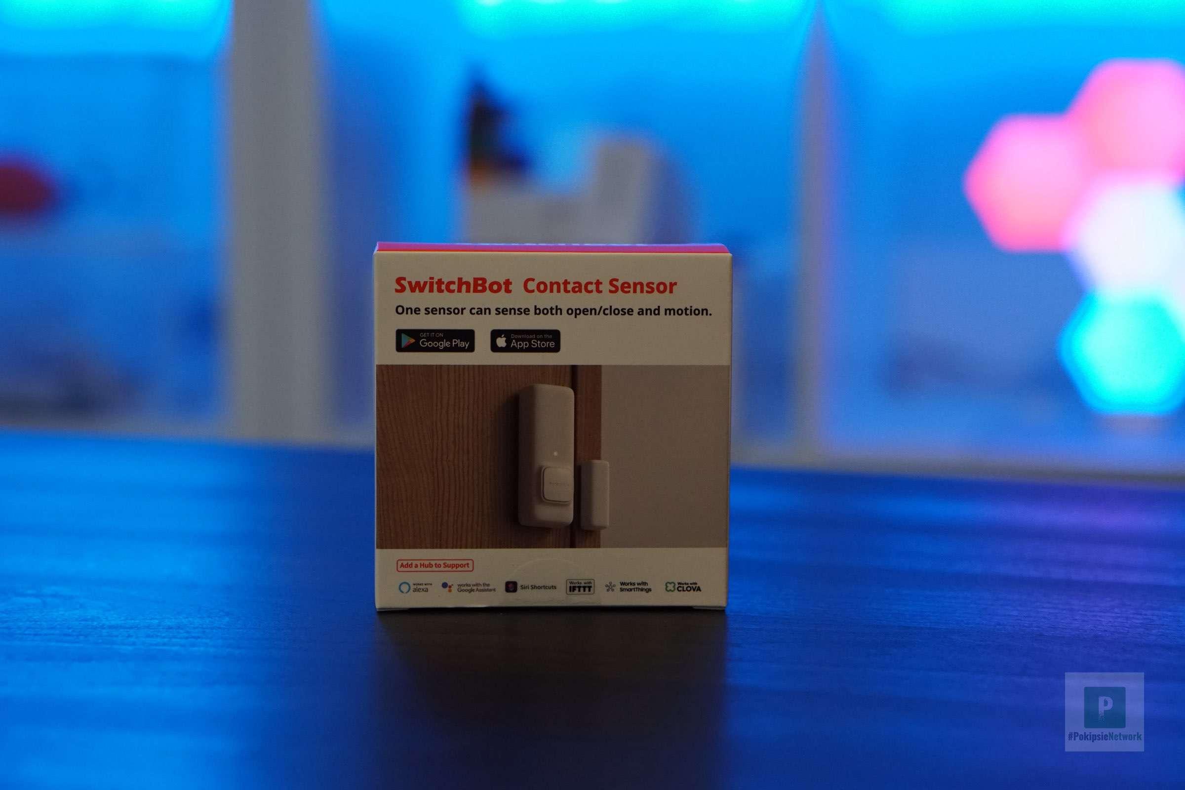 Der SwitchBot Kontaktsensor im Test