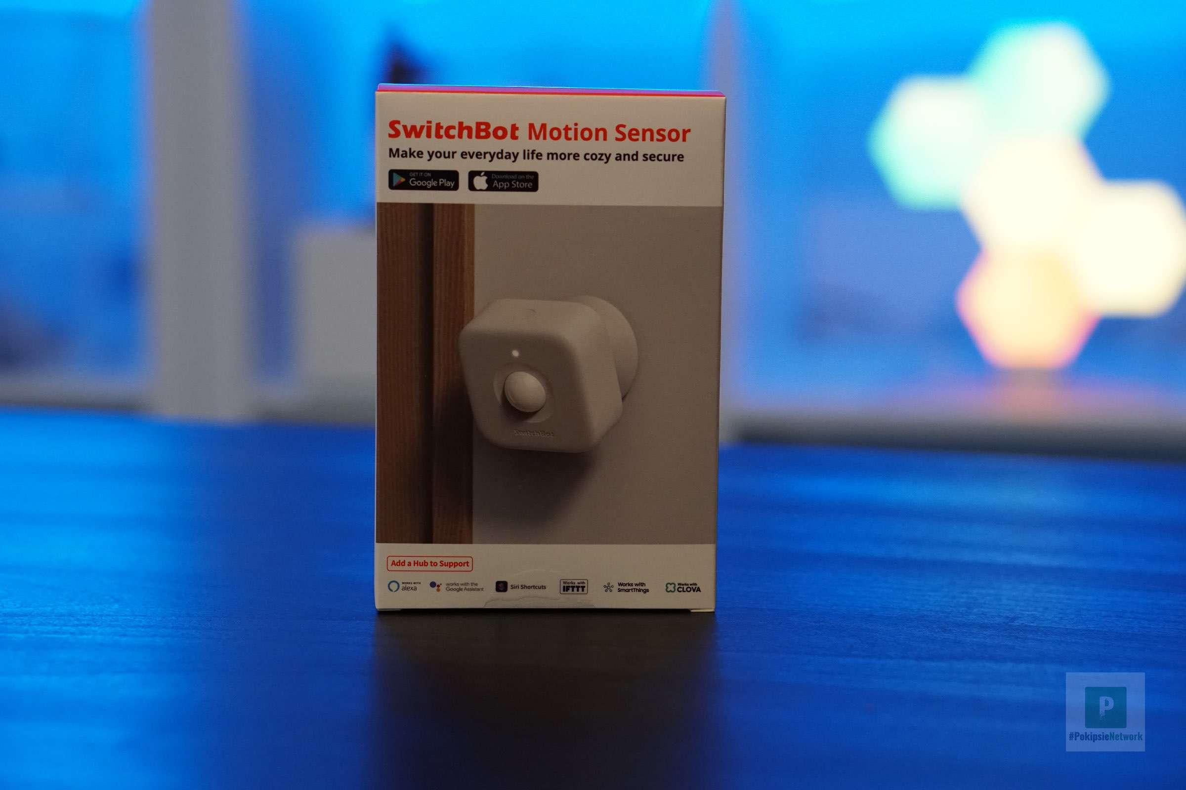 Der SwitchBot Motion Sensor im Test
