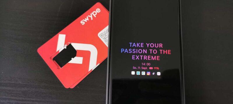 Swype Test – Günstige Daten-SIM schnell geliefert