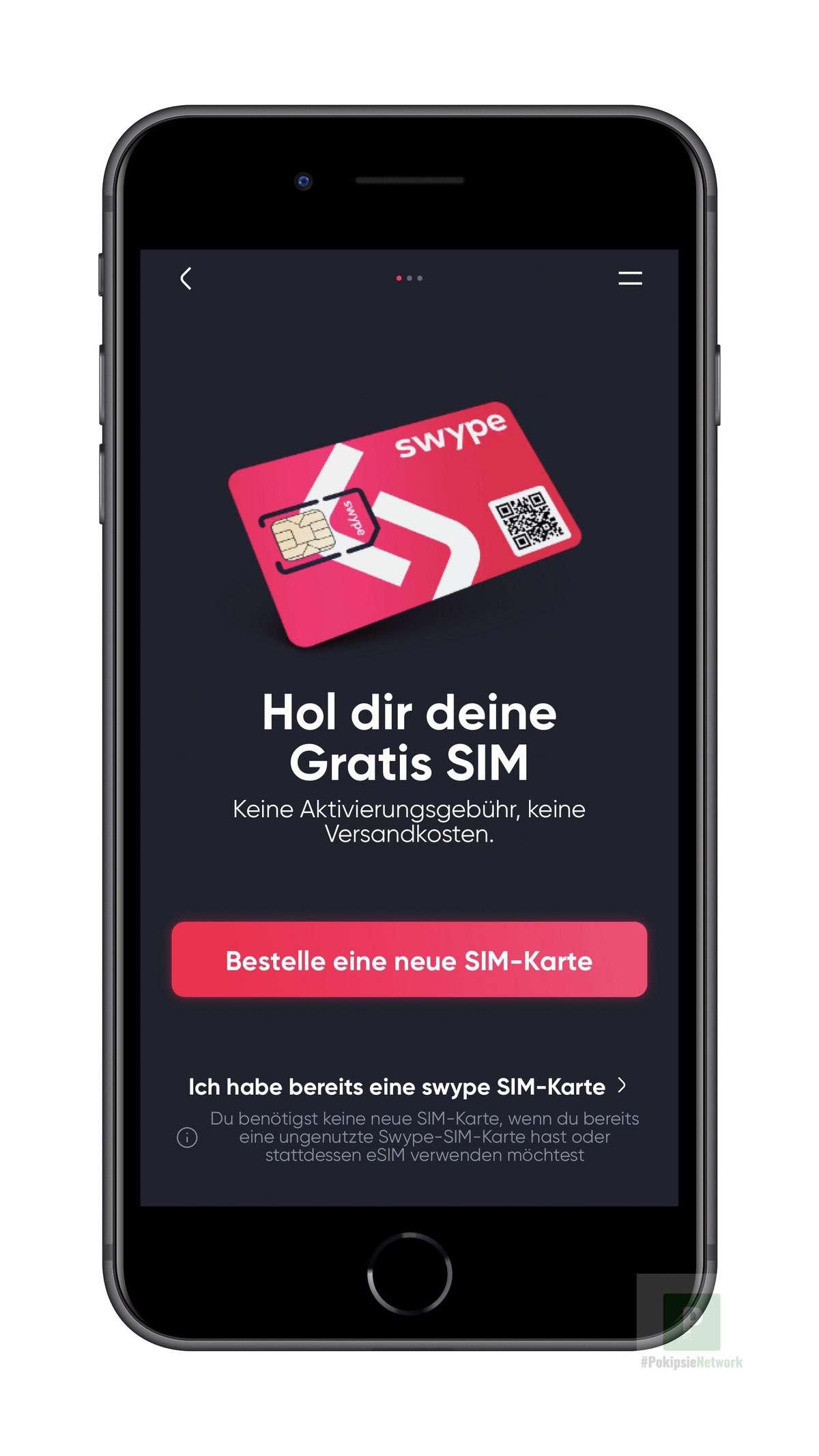 Hol dir deine Kostenlose SIM