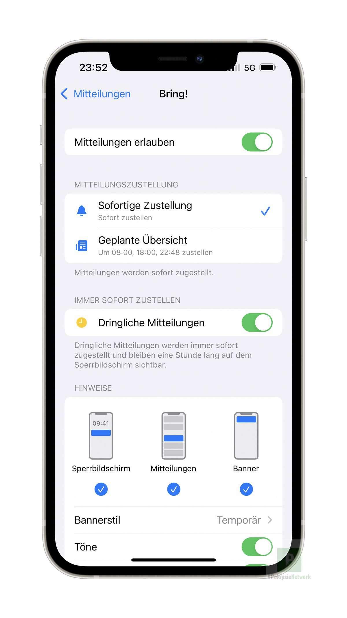 Tutorial – iOS 15 Benachrichtigungen und Badges deaktivieren