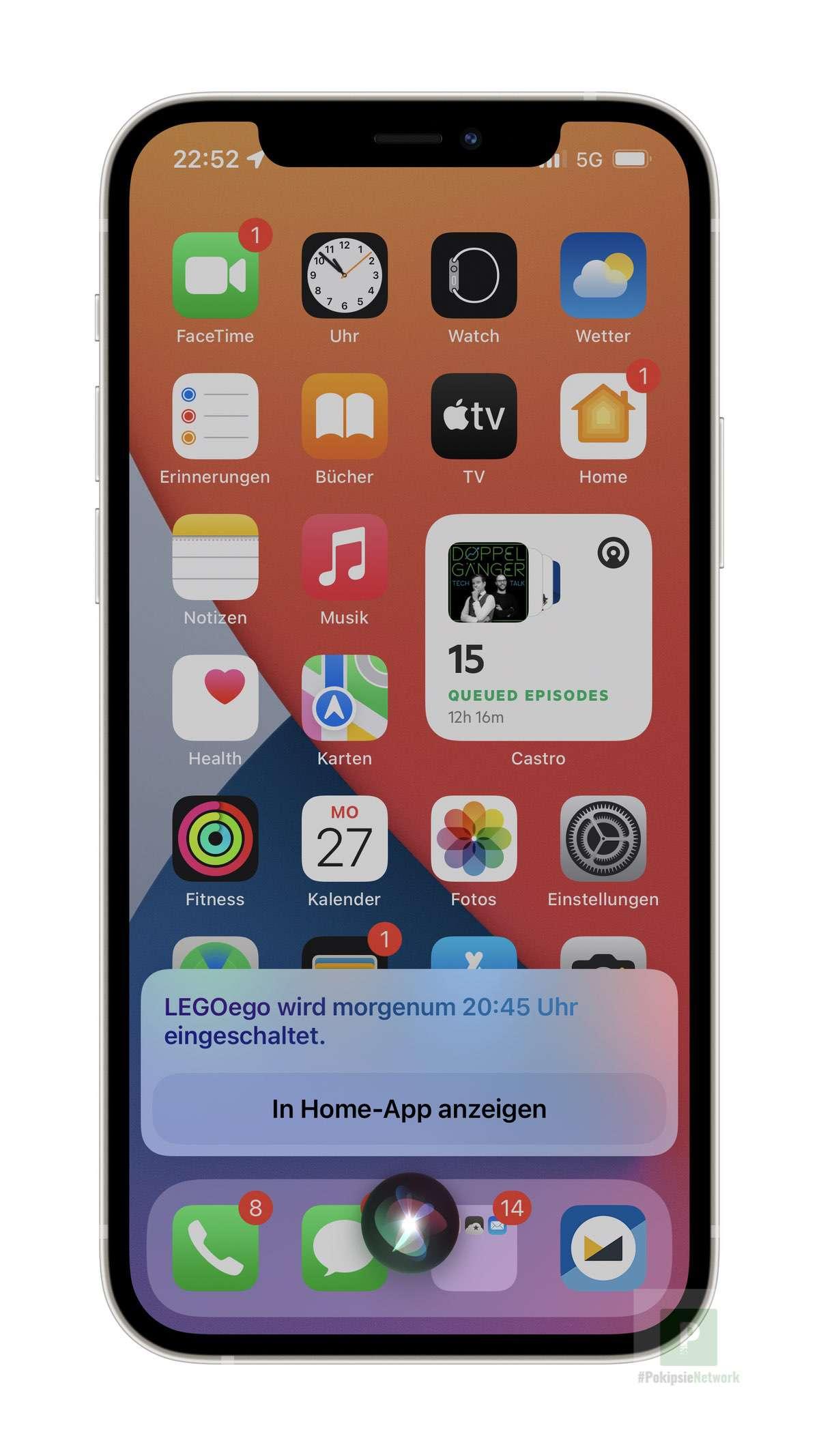 iOS 15 - Timer für Apple HomeKit