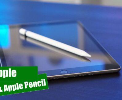 Apple iPad und Apple Pencil