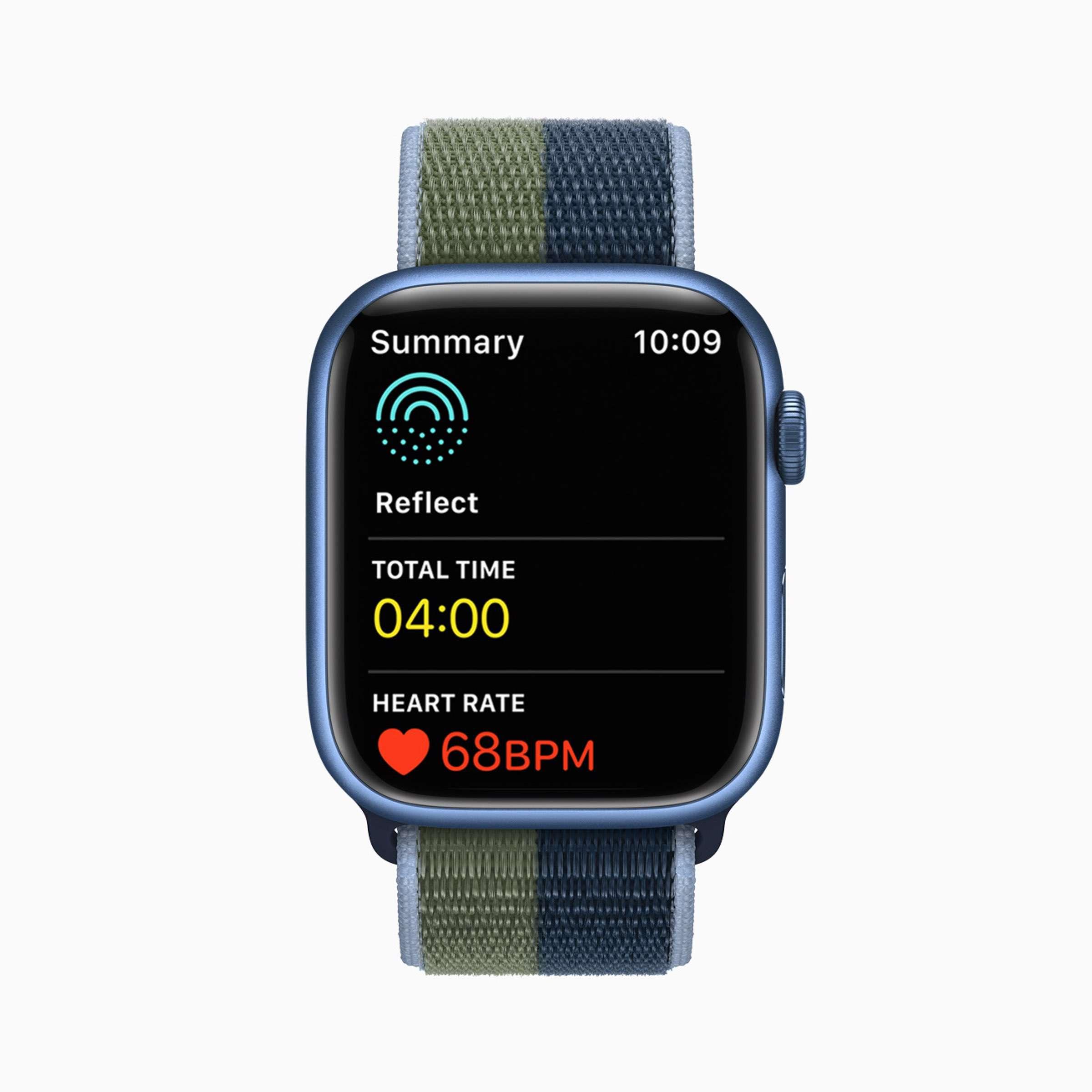 Apple - watchOS8 - Aufmerksamkeit