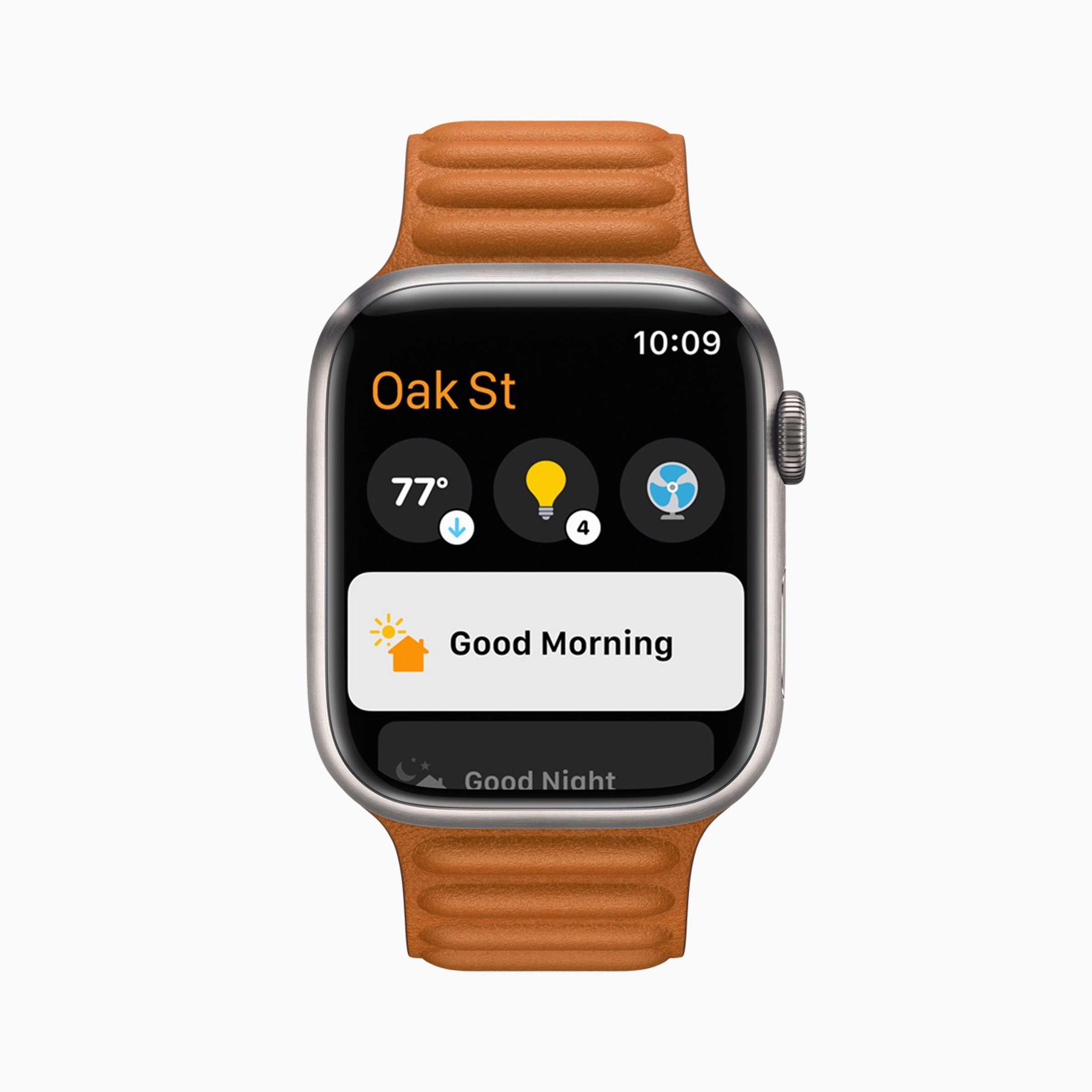 Apple - watchOS8 - Home