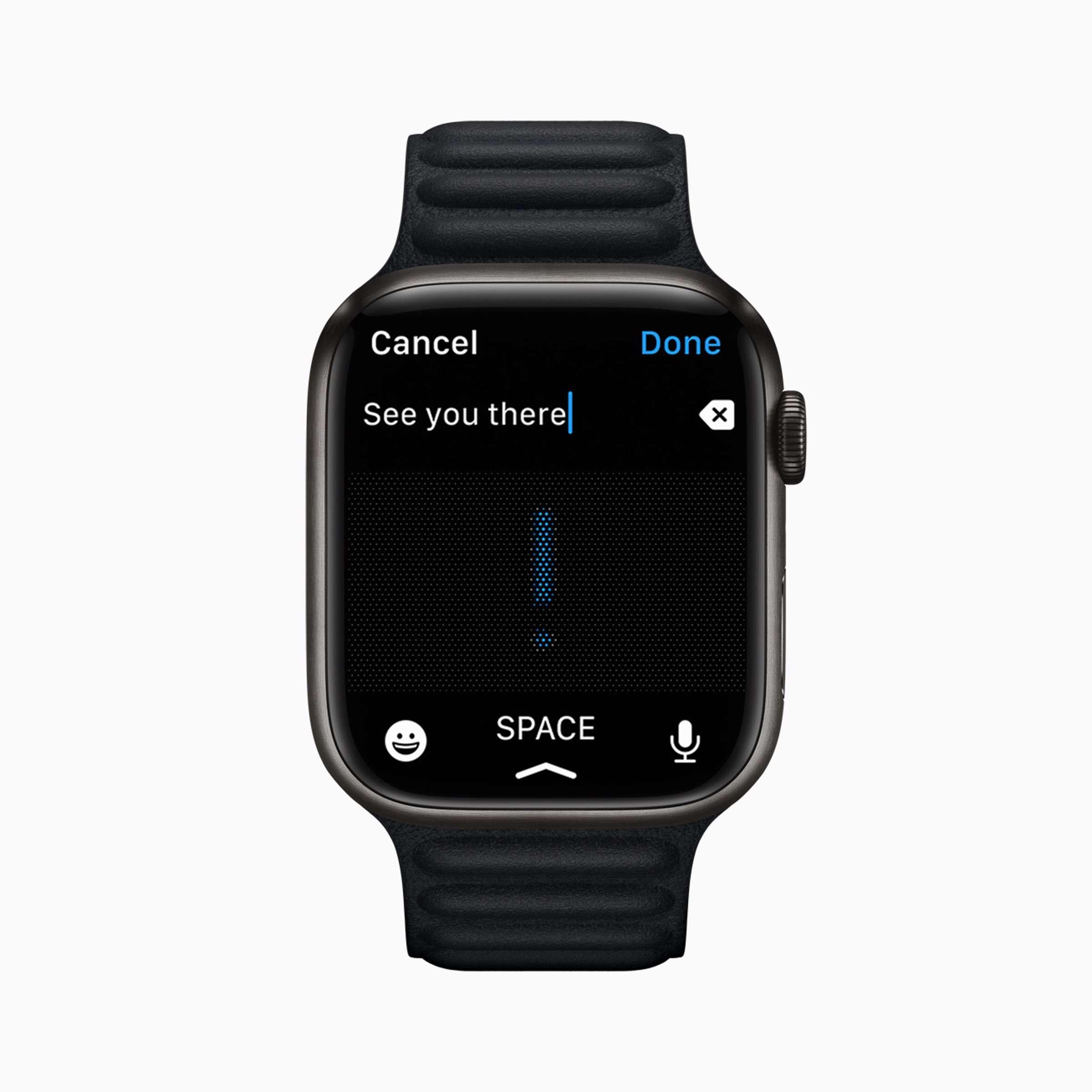 Apple - watchOS8 - Nachrichten