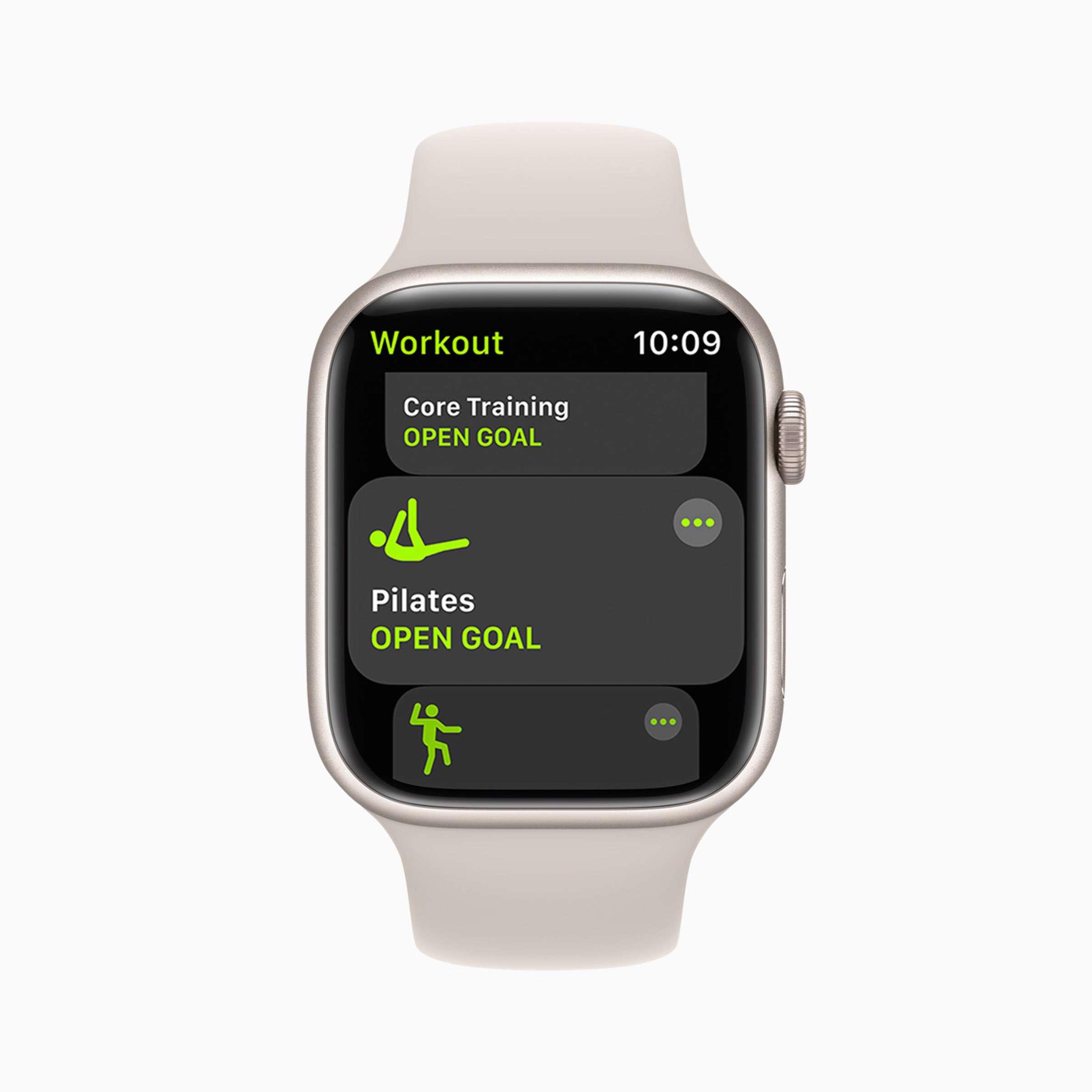 Apple - watchOS8 - Trainings