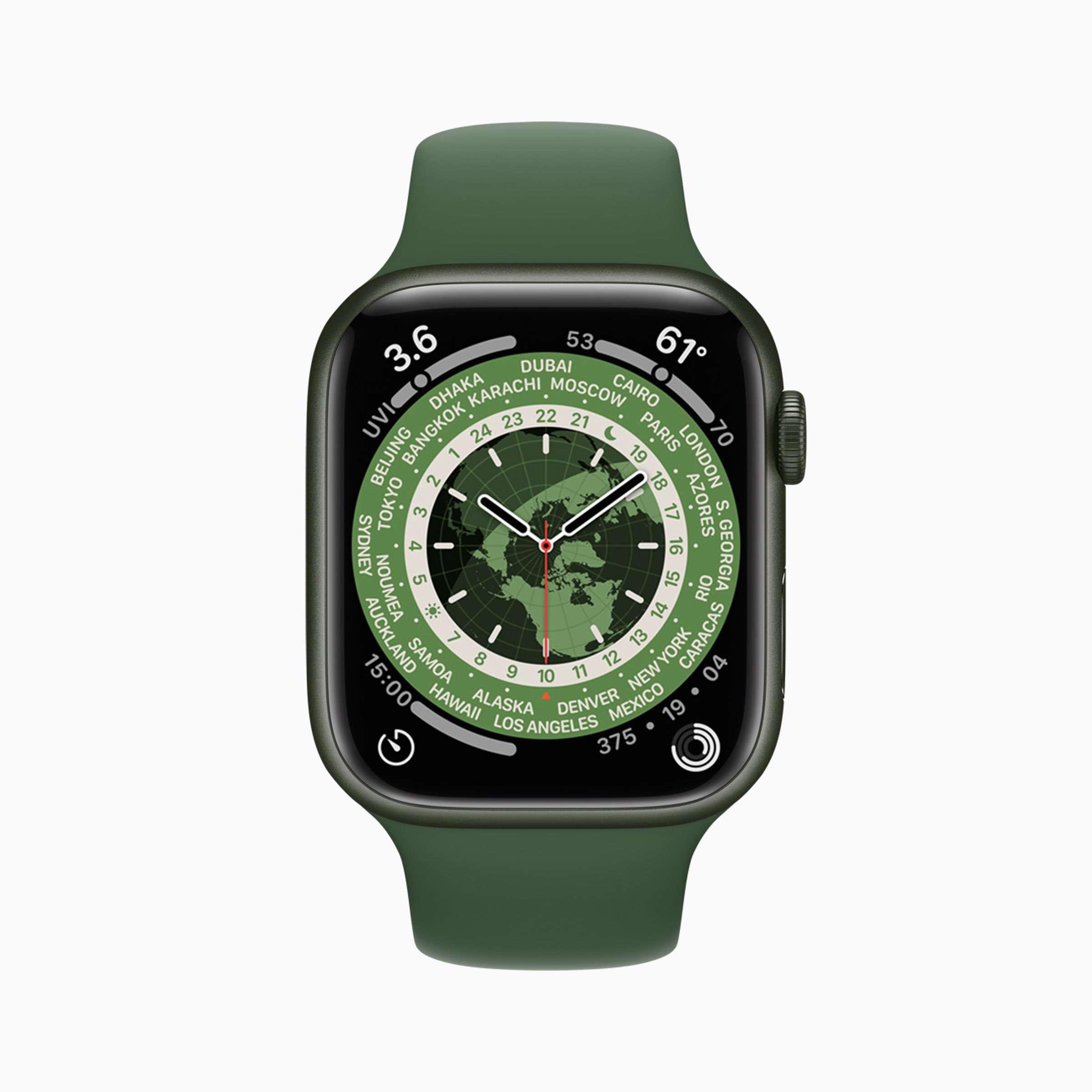Apple - watchOS8 - Ziffernblaetter