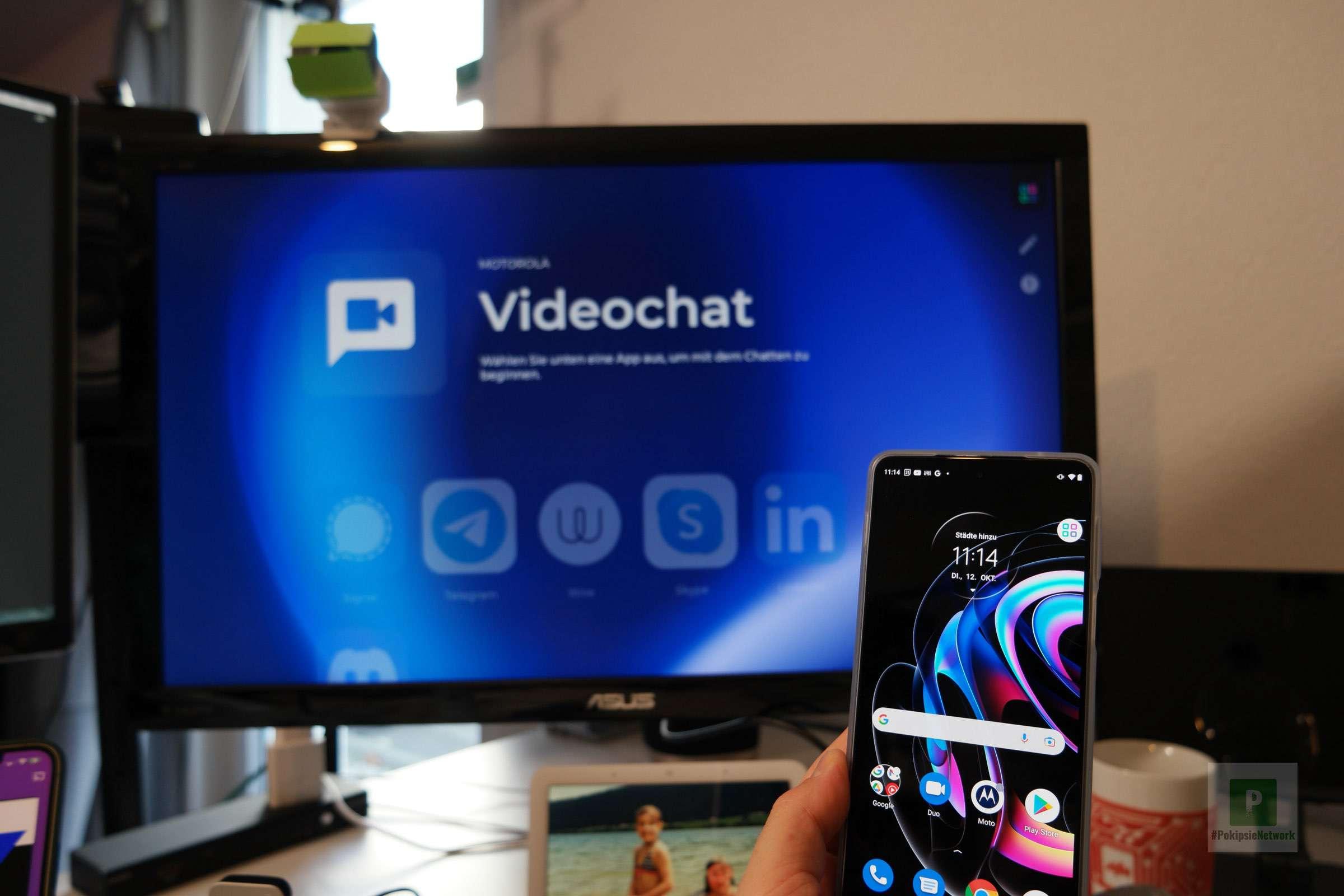Motorola - Ready For - Videochat