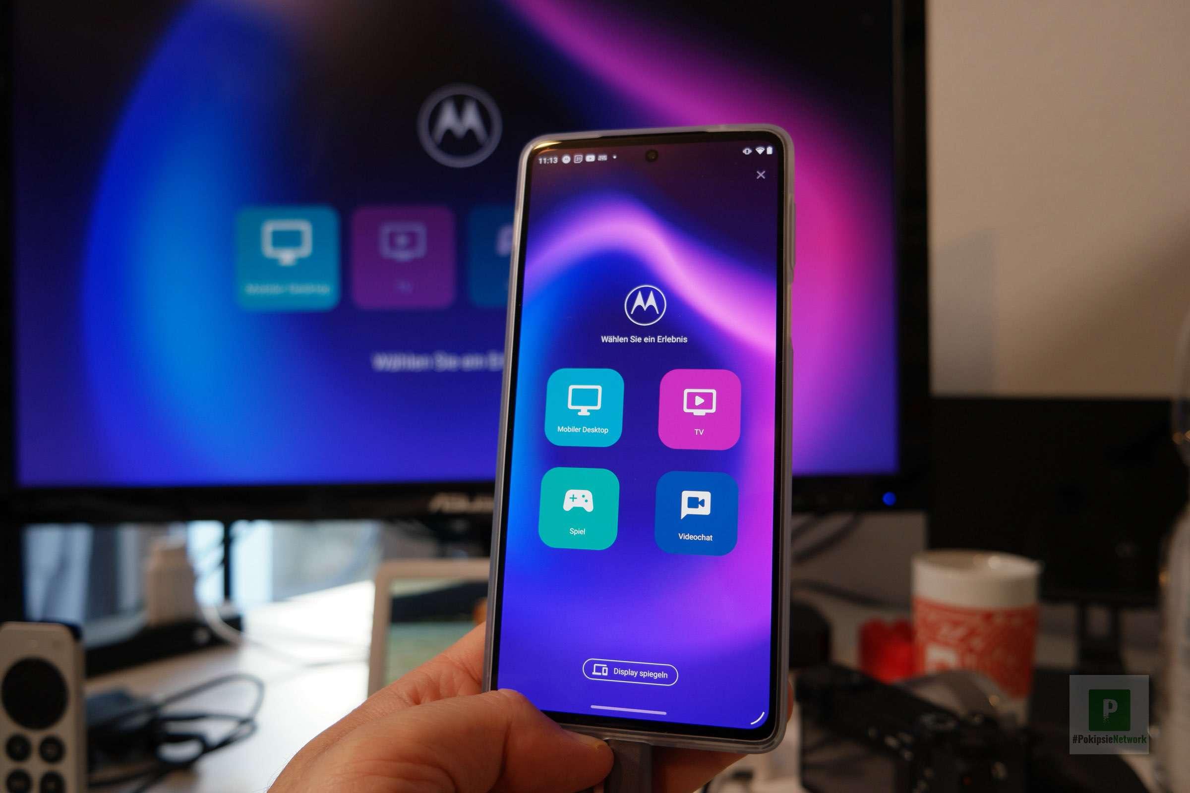 Motorola - Ready For - Welcher Modus darf es sein