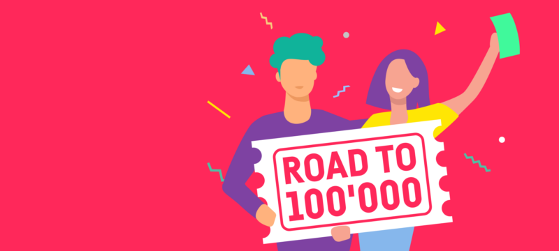 Road to 100'000