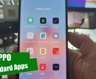 Die Standard-Apps auf OPPO Smartphones