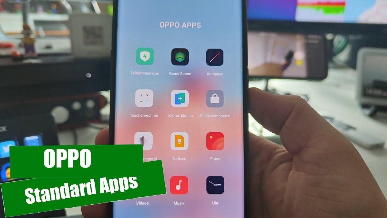Die Standard Apps auf OPPO Smartphones